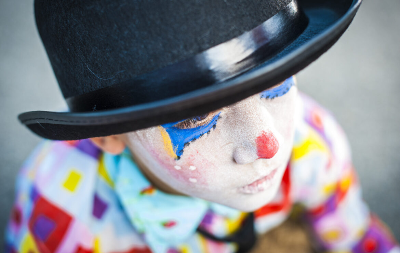 Improv flow boy clown